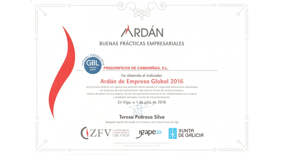 Indicator Ardán 2016 – Good Business Practices