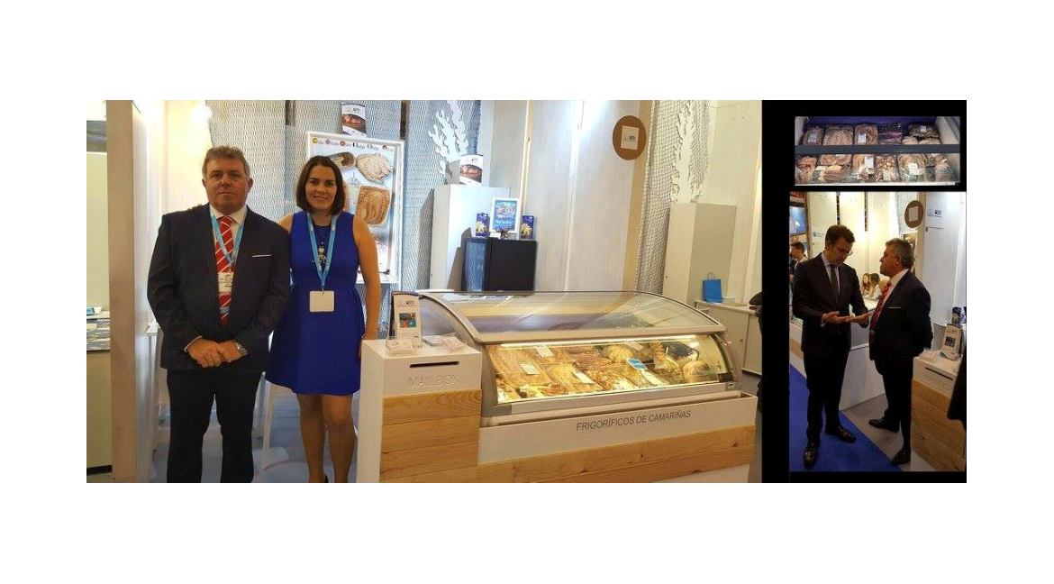 Frigoríficos de Camariñas as an exhibitor at European Seafood Expo Global 2017– Brussels (Belgium)