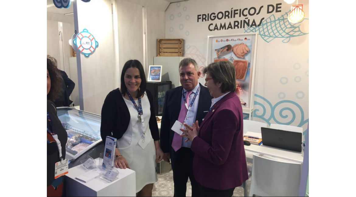 Frigoríficos de Camariñas as an exhibitor at European Seafood Expo Global 2018– Brussels (Belgium)